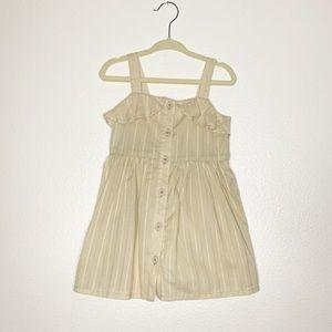 GYMBOREE NWT Toddler Sun Dress Ivory Size 18-24m